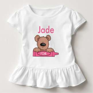 Jade's Personalized Teddy Toddler T-shirt