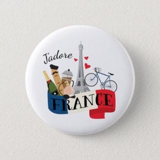 Jadore France 2 Inch Round Button