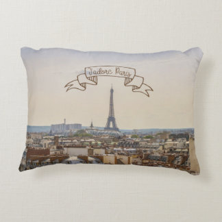 J'adore Paris Series 01 Accent Pillow