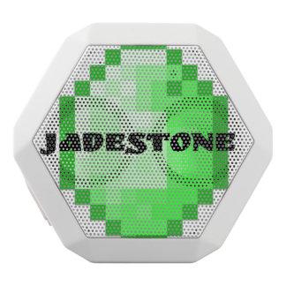 Jadstone boombox white bluetooth speaker
