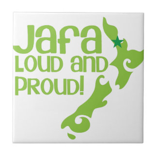 JAFA Loud and proud! (New Zealand Auckland) Tile