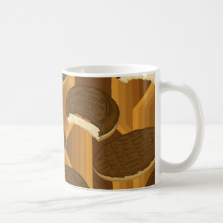 Jaffa Cake/Chocolate Digestive - Tea Mug
