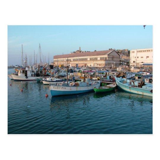 Jaffa Old City Postcard