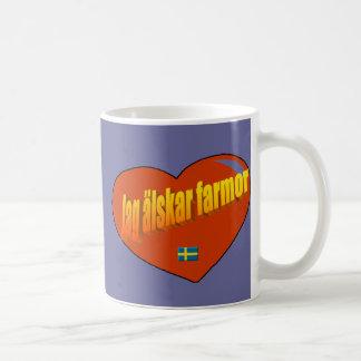 Jag Alskar Farmor Coffee Mug