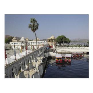 Jag Mindar Palace, Lake Pichola, Udaipur, India. Postcard