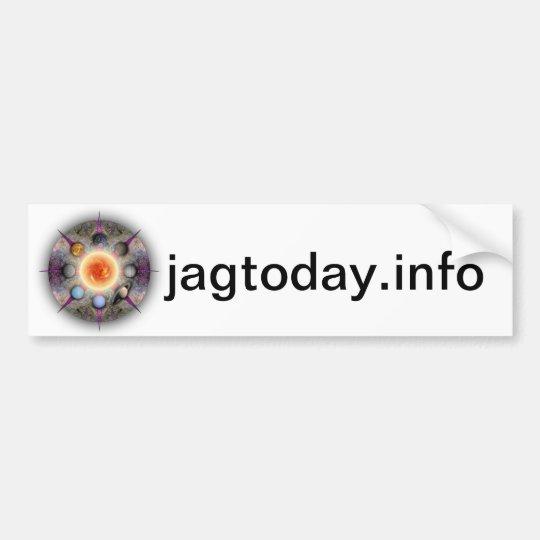 JAG Today Bumper Sticker