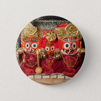 Jagannatha Deities Button