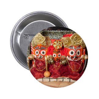 Jagannatha Deities Button