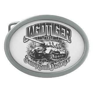 JAGDTIGER Pewter Belt Buckle