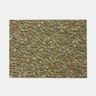 jagged stone golden doormat