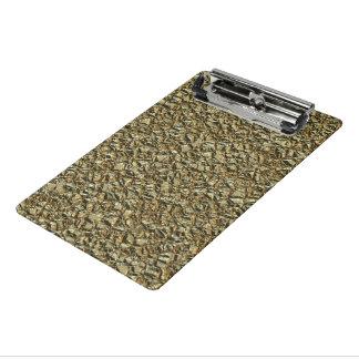 jagged stone golden mini clipboard