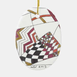 jagged tangle ornament