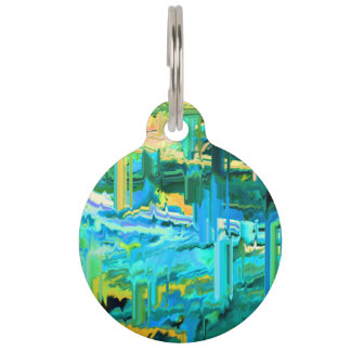 Jaggeed Little Pill-blue Pet ID Tags