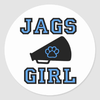 Jags Girl Stickers