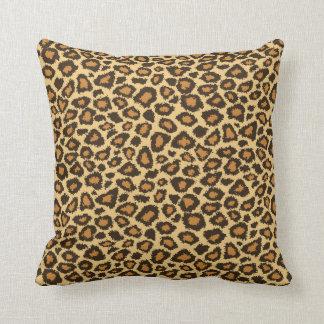 Jaguar Animal Print Throw Pillow
