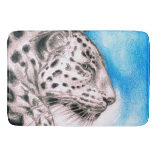 Jaguar Art Bath Mat