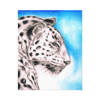 Jaguar Art Canvas Print