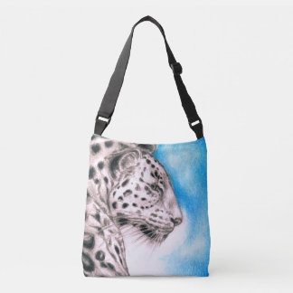 Jaguar Art Crossbody Bag