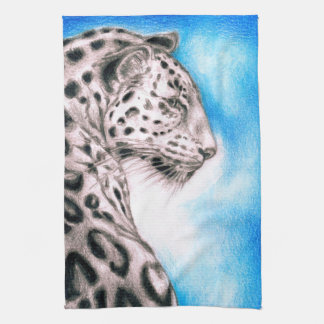 Jaguar Art Kitchen Towel