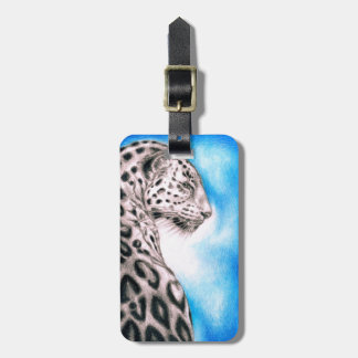 Jaguar Art Luggage Tag