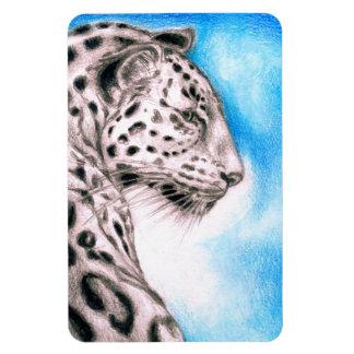 Jaguar Art Magnet