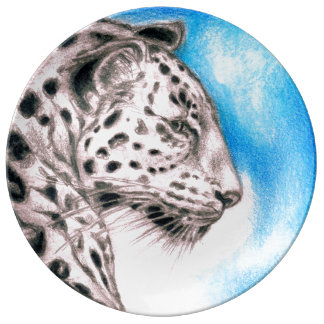 Jaguar Art Plate