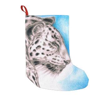 Jaguar Art Small Christmas Stocking
