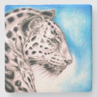 Jaguar Art Stone Coaster