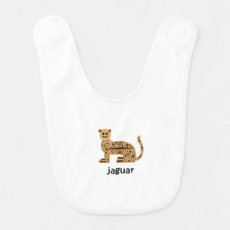 Jaguar Baby Bib