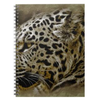 Jaguar Cat Spots Destiny Nature Safari Spiral Note Books