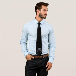 Jaguar Diablo black business tie (2-sided)