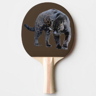 Jaguar Diablo brown ping pong paddle