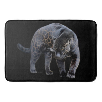 Jaguar Diablo large bath mat