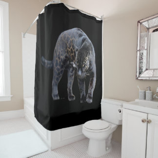 Jaguar Diablo shower curtain