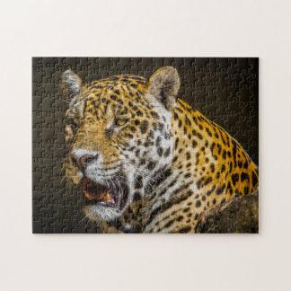 Jaguar Digital Art 01 - Photo Puzzle