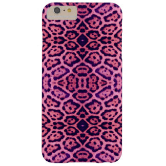 Jaguar Fur in Pink and Purple Barely There iPhone 6 Plus Case