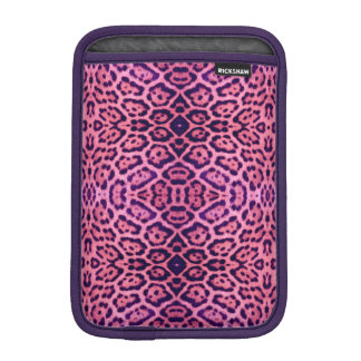 Jaguar Fur in Pink and Purple iPad Mini Sleeve