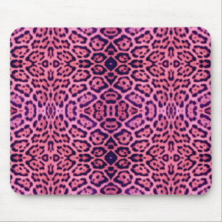 Jaguar Fur in Pink and Purple Mouse Pad