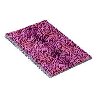 Jaguar Fur in Pink and Purple Notebook