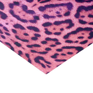 Jaguar Fur in Pink and Purple Tissue Paper