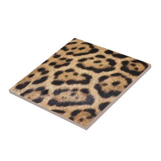 Jaguar Fur Photo Print Tile