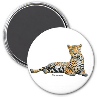 Jaguar image for Round Magnet