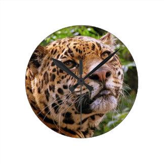 Jaguar Inquisitive Round Clock