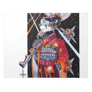Jaguar Kimono Space Marine Large Unlined Notebook! Notepad