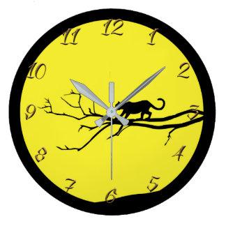 Jaguar Large Clock