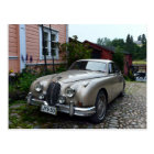 Jaguar Mark 2 in Porvoo, Finland Postcard