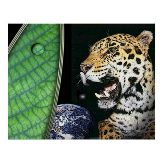 jaguar of the earth poster