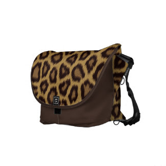 Jaguar Print Commuter Bag