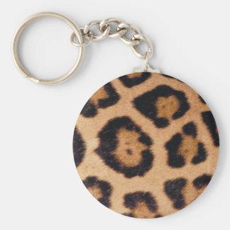 Jaguar Print Keychain