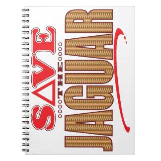 Jaguar Save Spiral Notebook